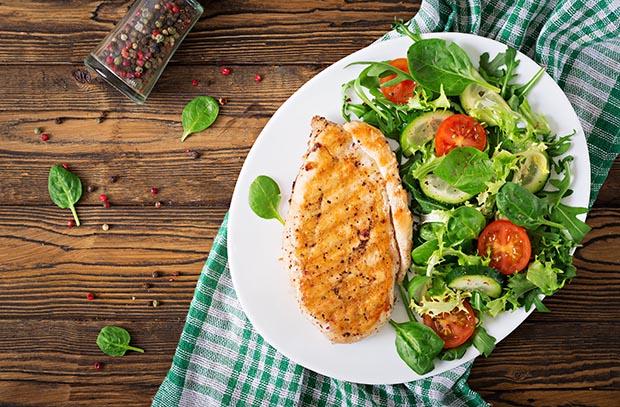 Maträtt från Mat & Ro