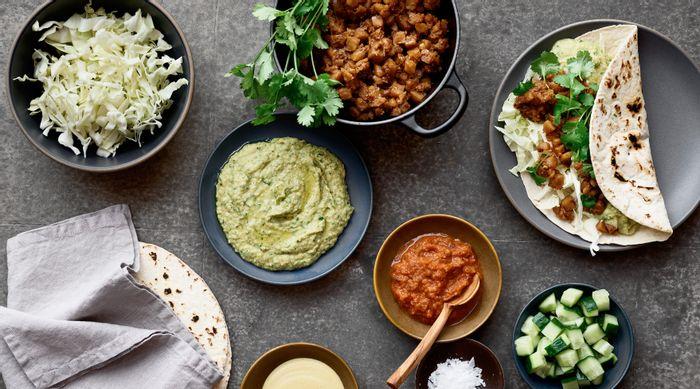 Maträtt från Simple Feast